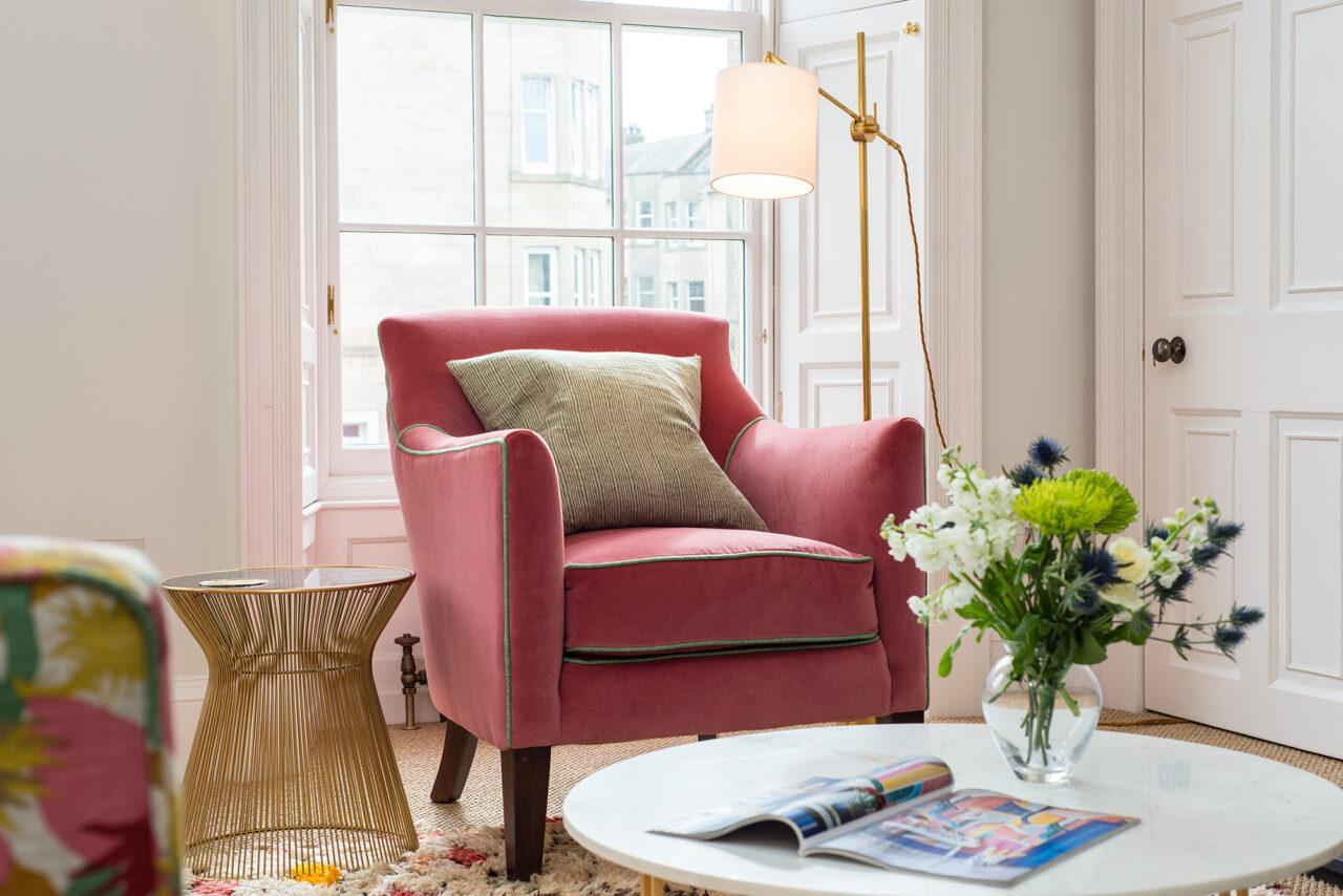 Edinburgh Townhouse armchair