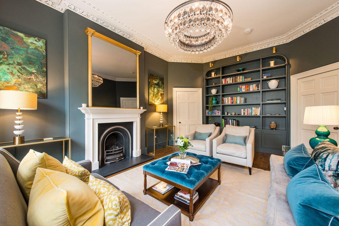 Edinburgh Townhouse living room