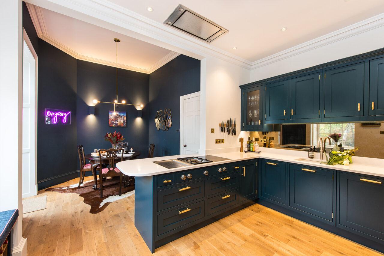 Edinburgh Townhouse kitchen