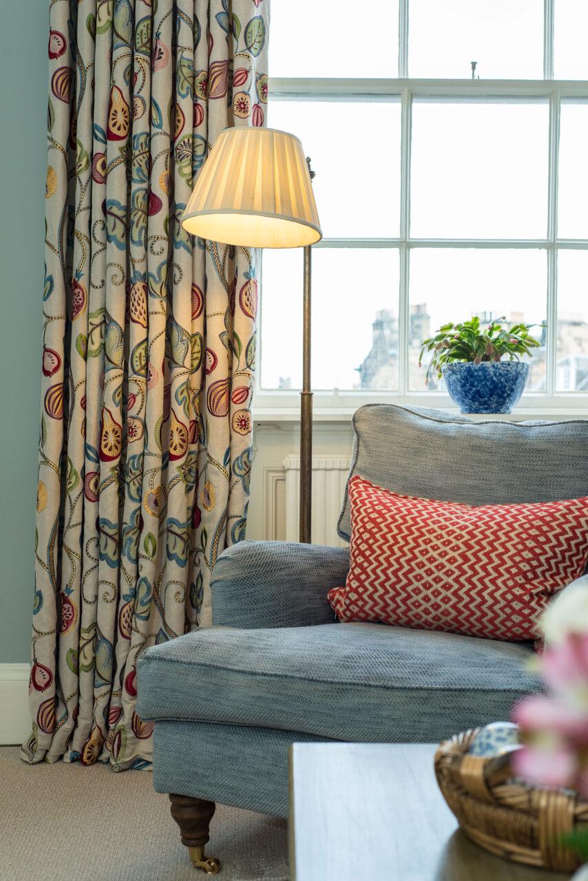 Clarendon Crescent living room